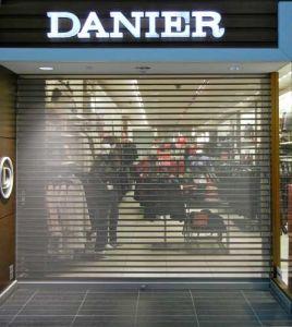 Perforated Galvanized Steel Roller Shutter Door pictures & photos