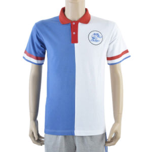 Wholesale Fashion Uniform Embroidered Custom Polo Shirt pictures & photos