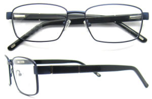 New Arrival Optical Frames Italy Optical Frames of Metal Stock Acetate Branded Eyewear in China pictures & photos