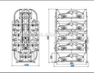 Vertical Rotary Smart Parking System with Ce pictures & photos