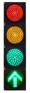 LED Vehicle Traffic Signal with Arrow Red Yellow Green Arrow pictures & photos