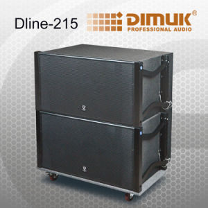 Active Dual 15 Inch Subwoofer