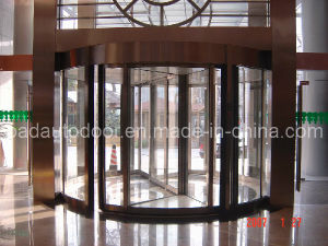 2-Wing Luxury Automatic Revolving Door for Commercial Building pictures & photos