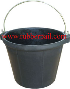 Recycled Construction Rubber Bucket 1017