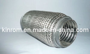 321 Steel Mesh Braid OEM Exhaust Flexible Pipe