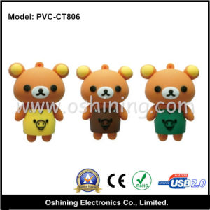Baby Bear Cartoon 8GB USB Flash Disk (PVC-CT806) pictures & photos