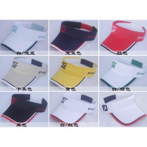 2014 Golf Visor Outdoor Mixed Order Sun Hat Adjustable Cap pictures & photos