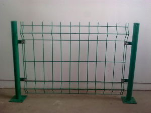 PVC Coated Wire Mesh Fencing S464