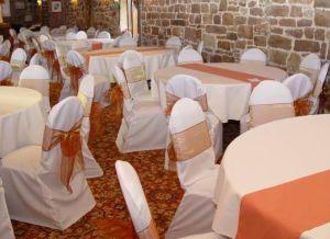 Banquet Chair Covers & Organza Sash