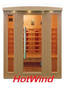2016 Far Infrared Sauna Room Wood Sauna for 4 People (SEK-BP4) pictures & photos