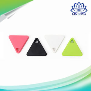 Mini Triangle Wireless Smart Tag Bluetooth Anti Lost Alarm Tracker 5 Colors Available pictures & photos