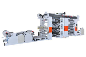 Flexographic Printing Machine (Roll to Roll) pictures & photos