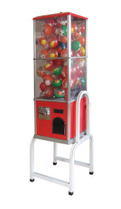 Midsize Capsules Vending Machine with Rack