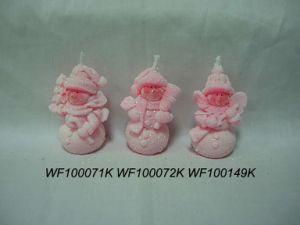 Ceramic Christmas Candlestick