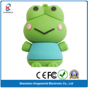 PVC Frog 1GB USB Memory Disk pictures & photos