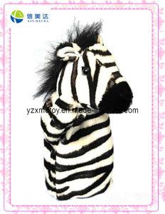 New Design Zebra Plush Puppet Toy (XDT-0132) pictures & photos