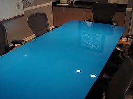 Tempered Painted Blue Color Glass Table Top with an/Nzs 2208: 1996, Bs6206, En12150 pictures & photos