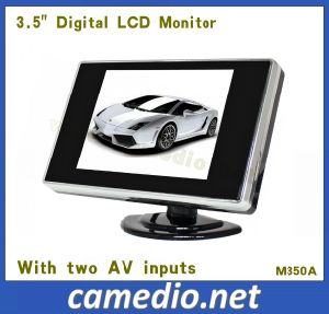 3.5inch Digital TFT LCD Display Monitor with 2 AV Inputs pictures & photos