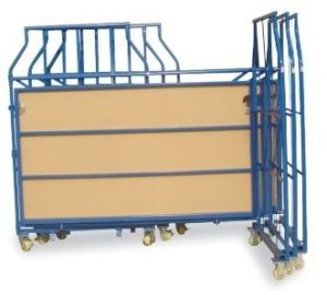 L Type Foldable Metal Roll Container pictures & photos