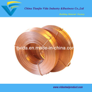 Brass Coated Flat Stitching Wire pictures & photos