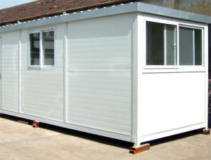 Light Steel Container House with PVC Sliding Window pictures & photos