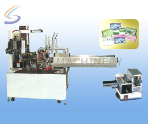 China Folded Tissue Paper Piles Box-Packing Machine pictures & photos