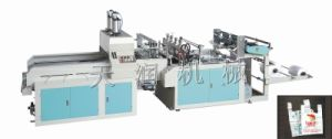 Double-Channels Heat-Cutting T-Shirt Bag Making Machine pictures & photos
