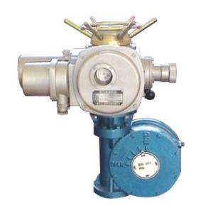 Modulating Electric Actuator with Gear Operator