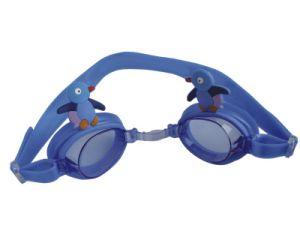 Kid′s Silicone Swim Goggles (G4710)