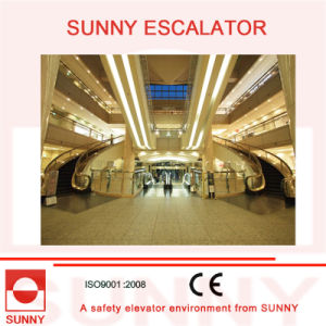 Curved Escalator Spiral / Helical Escalator for Shopping Mall and Commercial Buildings pictures & photos