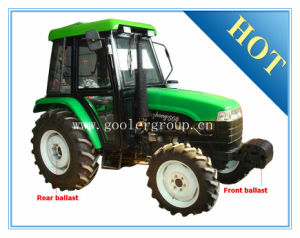 Luzhong LZ504 50HP 4WD Mini Farm Wheel Tractor pictures & photos