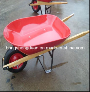Wooden Handle Wheel Barrow (WH4400) pictures & photos