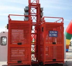Construction Hoist (SC200/200) pictures & photos
