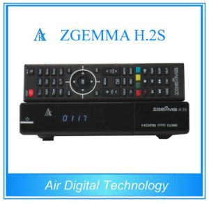 Original Zgemma H. 2s Twin Tuner DVB-S/S2 Linux HD Satellite Receiver pictures & photos