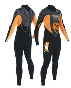 Men/Women Long Sleeves and Long Pants Diving/Surfing Wetsuit (K-4012) pictures & photos