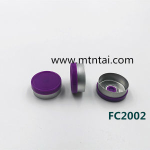 20mm Flip off Caps in Purple Color pictures & photos