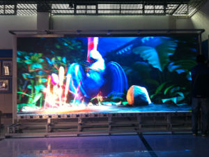 P6 Indoor LED Display Screen with Curve Shape
