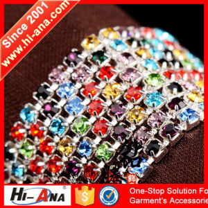 Over 800 Partner Factories Cheaper Rhinestone Chain Trim pictures & photos