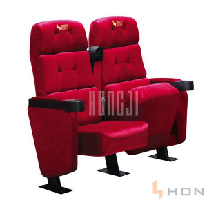 VIP Luxury Fabric 3D Theater Cinema Seating pictures & photos