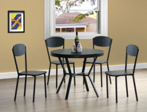 Retro Style Round Dining Set for Dining Room