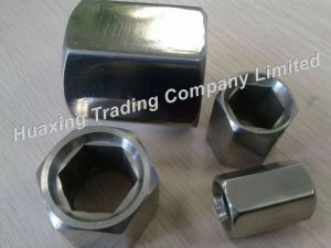 Stainless Steel Hexagonal (inside) Nut / Sleeve Space Frame Components 41/26