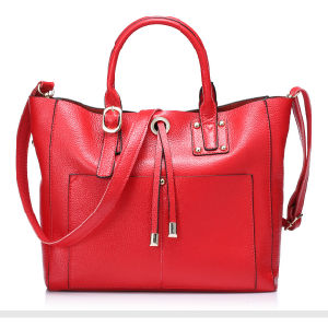 Unique Trendy High Quality Famous Imitation Red Handbags Brands with SGS (ZX10280) pictures & photos