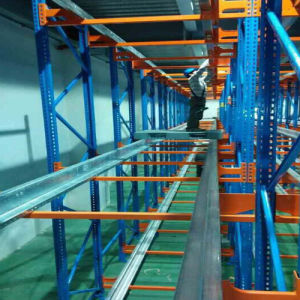 Easy Adjustable Heavy Duty Warehouse Radio Shuttle Storage Rack pictures & photos
