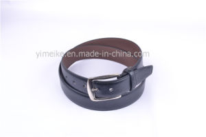 Men Leather Belt with Alloy Pin Buckle Classical PU Belt pictures & photos