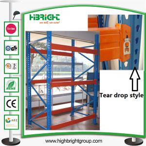 Us Style Teardrop Pallet Racking pictures & photos