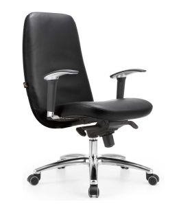 Hot Selling Simple Design Leather Office Chair Manager Chair Computer Chair pictures & photos