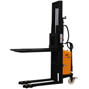 Semi-Electric Straddle Legs Forklift Stacker pictures & photos