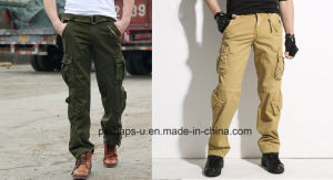New Design Mens Cotton Cargo Pants pictures & photos
