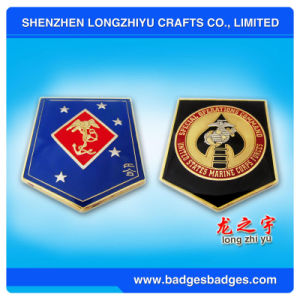 promotional Embroidery Soft Enamel Metal Coin with Super Quality pictures & photos