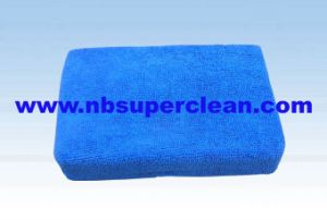 2015 Wholesale Multipurpose Microfiber Square Car Washing Sponge (CN1230) pictures & photos